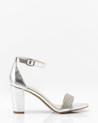 Le Château Jewel Embellished Metallic Sandal