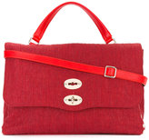 Zanellato double fastening tote bag - women - Canvas - One Size