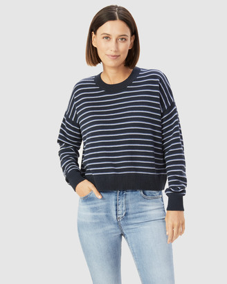French Connection Women's Jumpers & Cardigans - Boxy Stripe Knit - Size One Size, XS at The Iconic