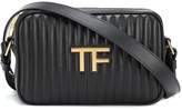 Thumbnail for your product : Tom Ford TF quilted leather camera bag