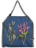 Stella McCartney Falabella Embroidered Western Tote - Blue