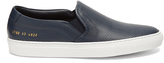 Common Projects Perforated slip-on leather trainers
