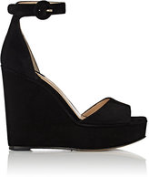 Paul Andrew WOMEN'S ADALET SUEDE WEDGE SANDALS