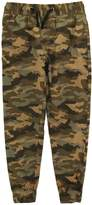 Smiths American Smith's American Little Boys' Cotton Spencer Camo Twill Jogger Pant, Olive
