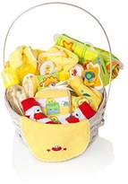 BASSKET.COM SESAME STREET Newborn Gift Basket For Boys/Girls/Unisex Children (0-6 Months), 23 Piece Bundle Filled Baby Gift Basket, Perfect Ideas For Birthdays, Easter, Christmas, Get Well, or Other Occasion!