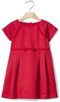 Gap Dotty fit & flare dress