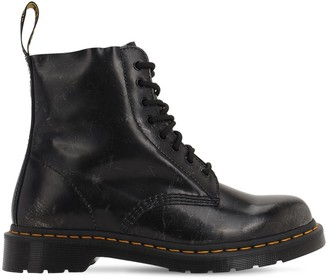 Dr. Martens Pascal Brushed Faux Leather Boots