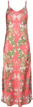 Madison.Maison Louise floral-print silk dress