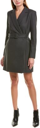 Theory Wool-Blend Blazer Dress
