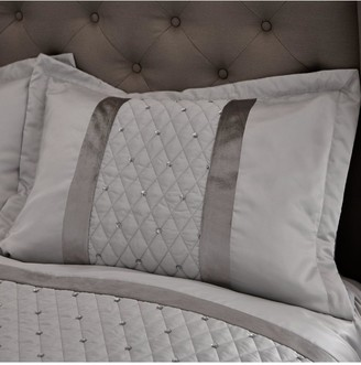 Catherine Lansfield Set of 2 Sequin Cluster Pillow Shams