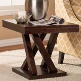 Baxton Studio End Table Ebern Designs