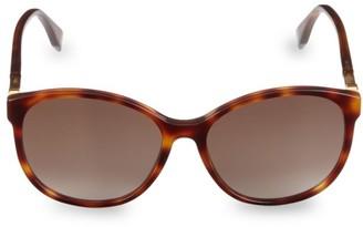 Fendi 58MM Round Sunglasses