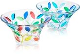 Due Zeta Rialto - Hand Decorated Murano Glass Small Bowl
