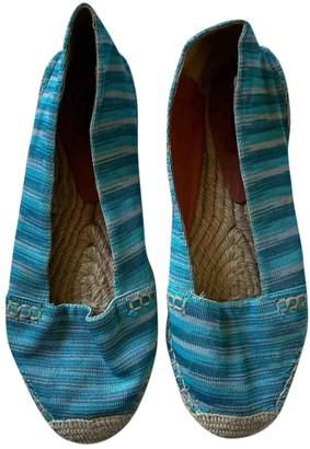 Missoni Turquoise Cloth Espadrilles