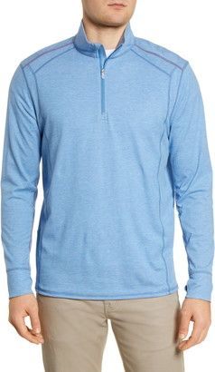 Tommy Bahama IslandActive Palm Valley Half Zip Performance Pullover