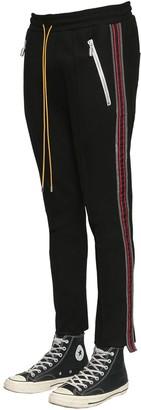 Rhude Traxedo Rayon Blend Pants W/ Side Bands