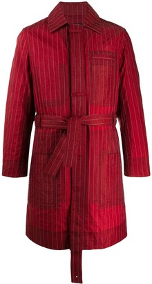 Craig Green Pin Stripe Patchwork Jacket