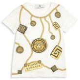 Versace Toddler's & Little Boy's Chain Graphic Tee