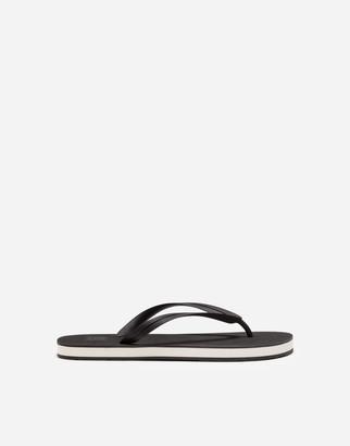 Dolce & Gabbana Rubber Thong Sandals