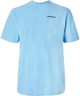 Patagonia P-6 Logo Responsibili-Tee Printed Cotton-Blend Jersey T-Shirt