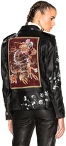 Etro Pearl Leather Jacket