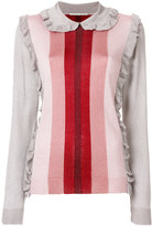 Marco De Vincenzo lurex knit sweater - women - Polyamide/Polyester/Acetate - 42