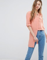 Vero Moda Long Line Shirt