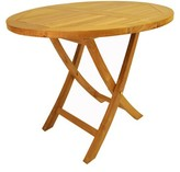 Farnam Solid Wood Bistro Table Rosecliff Heights