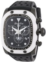 Glam Rock Unisex GR70108 Gulfstream Collection Chronograph Black Silicon Watch