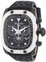 Glam Rock Unisex GR70108 Gulfstream Collection Chronograph Black Silicon Watch