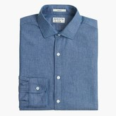 J.Crew Albiate 1830 for Ludlow spread-collar shirt in Italian chambray