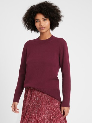 Banana Republic Petite Relaxed Chunky Sweater
