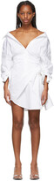Thumbnail for your product : Alexander Wang White Cinched Waist Dress