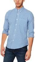 Red Herring - Blue Gingham Long Sleeves Slim Fit Shirt