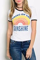 Popular Sunshine Crop Top