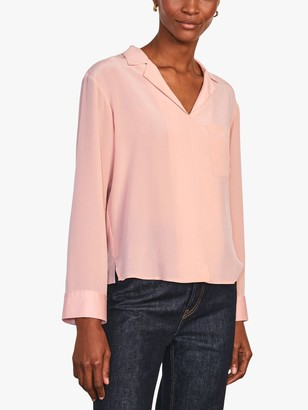 Jigsaw Silk Shirt, Rosa
