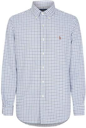 Polo Ralph Lauren Cotton Check Oxford Shirt