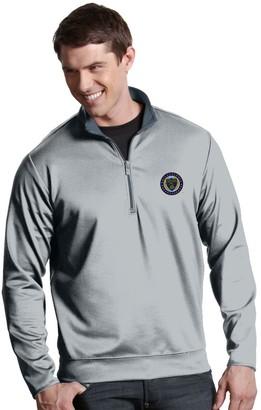 Antigua Men's Philadelphia Union Leader 1/4-Zip Pullover