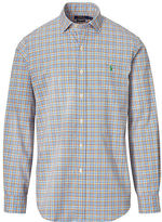 Big & Tall Polo Ralph Lauren Plaid Cotton Poplin Shirt