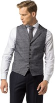Tommy Hilfiger Tailored Collection Fitted Glen Plaid Vest