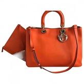 Christian Dior Diorissimo leather tote