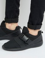 Brave Soul Ramsey Trainers In Black