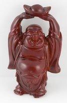 Ninja Gear Red Soapstone Laughing Buddha Figurine