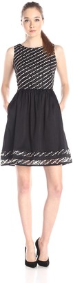 Taylor Dresses Women's Lace Fit and Flare Dress