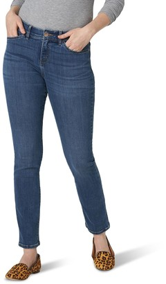 Lee Women's Flex Motion Straight-Leg Jeans