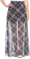 Juicy Couture Kronberg Plaid Maxi Skirt