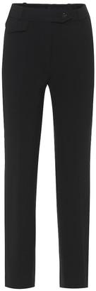 Victoria Victoria Beckham HIgh-rise cigarette pants