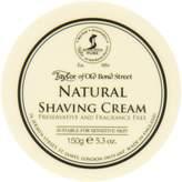 Taylor of Old Bond Street Natural Shaving Cream Bowl, 150 Gram