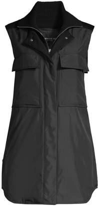 Lafayette 148 New York Willis Knit Collar Vest