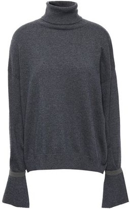 Brunello Cucinelli Bead-embellished Cashmere Turtleneck Sweater